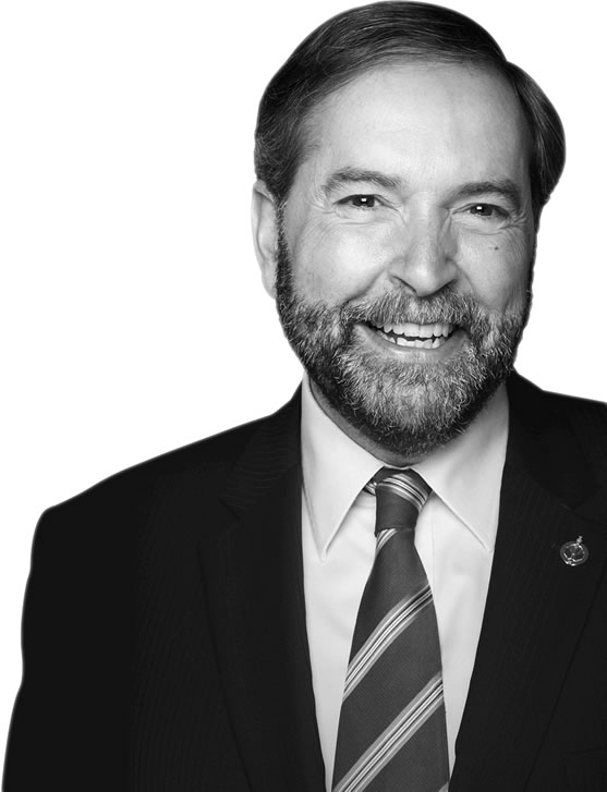 Honourable Tom Mulcair, Leader of the Official Opposition