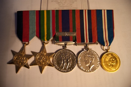 Mr. Jack Stapleton, Merchant Navy Seaman - Medals