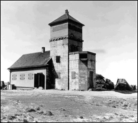 (Chapel Point Battery circa 1942)